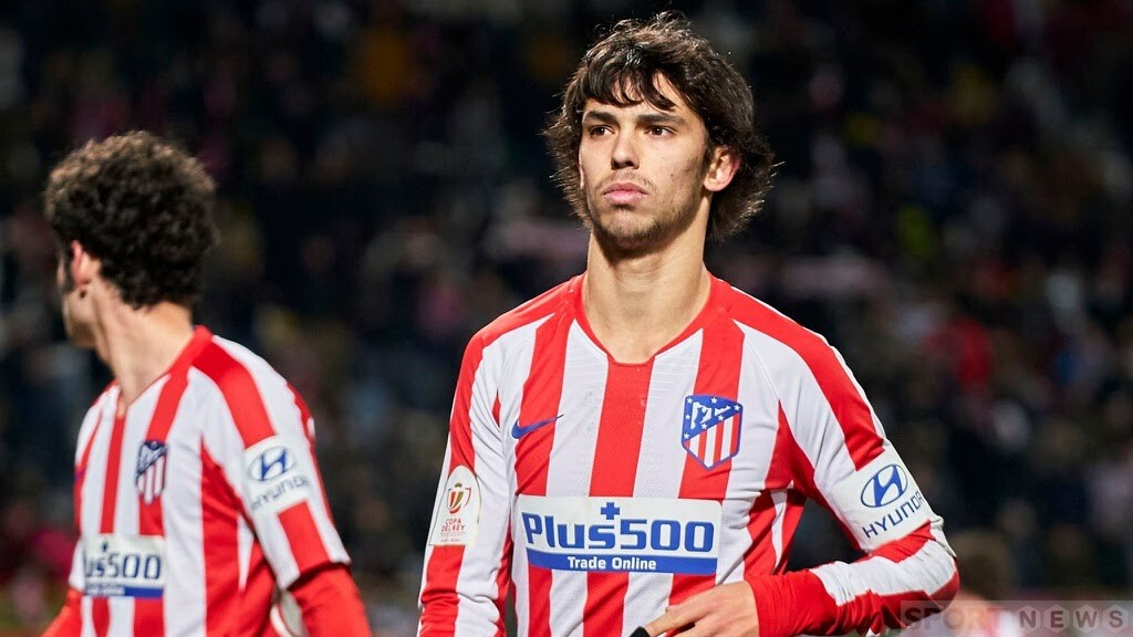 Joao Felix could not play against Liverpool because of an injury. Photo: Getty.