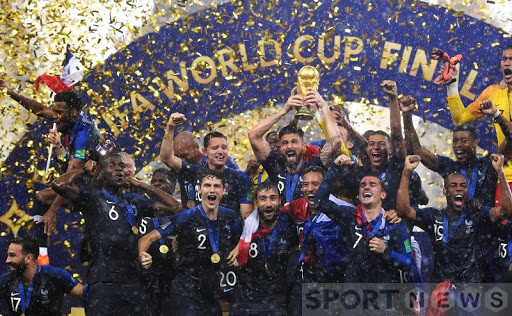 France won the 2018 FIFA World Cup