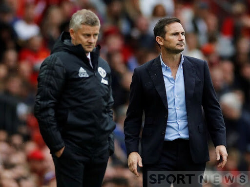 Lampard and Solskjaer have another meeting this season. Photo: Reuters.