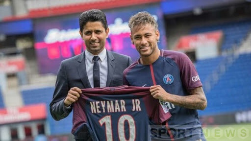 PSG broke the world and historical transfer records for Neymar and Mbappe