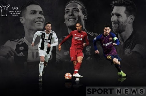 Ronaldo, Virgil van Dijk and Messi competed for The Best FIFA 2019