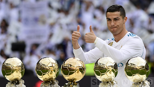 Ronaldo and the Golden Ball honors for many years