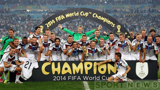 Germany is the winner of World Cup 2014