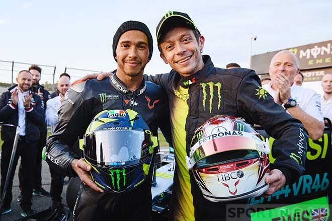 A memorable day for LH44 and VR46 teams