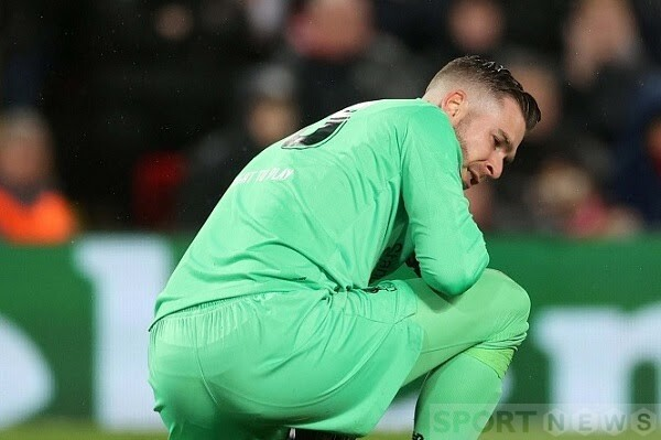 Adrian made a mistake that led to Liverpool's loss
