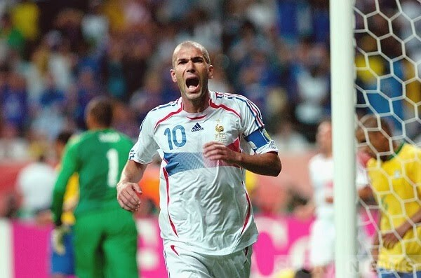 The 2006 World Cup was the last tournament in Zinedine Zidane's illustrious career.