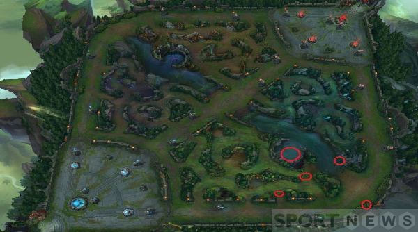 A basic guide for players to vision control in League of Legends