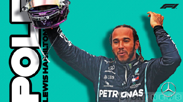 Lewis Hamilton won the pole in Stage 4 British GP 2020 this year