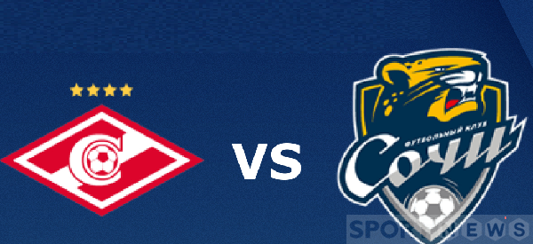 Spartak Moscow vs PFC Sochi prediction in the Russian National Championship
