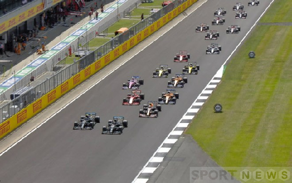 Starting situation British GP 2020