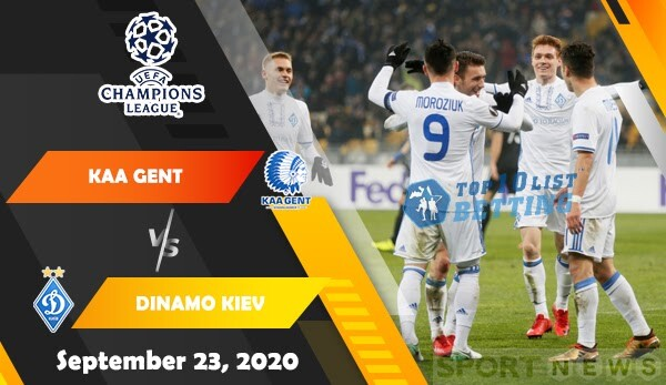 KAA Gent vs Dinamo Kiev Prediction