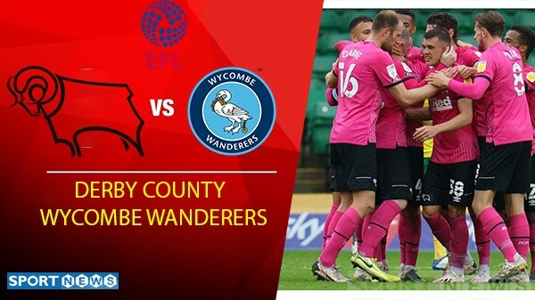 Derby County vs Wycombe Wanderers Prediction
