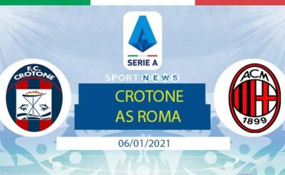 Crotone vs AS Roma Prediction