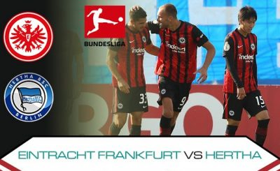 Eintracht Frankfurt vs Hertha Berlin Prediction