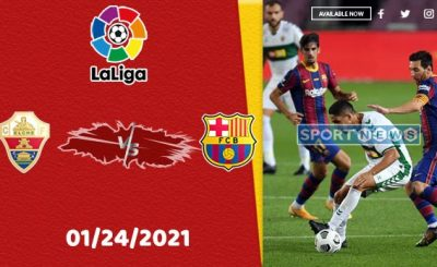 Elche vs Barcelona Prediction
