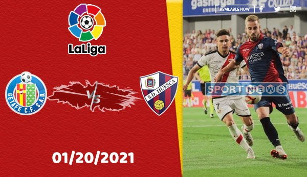 Getafe Vs Huesca Prediction La Liga 01 20 2020