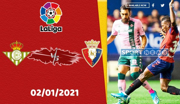 Real Betis vs Osasuna Prediction 1