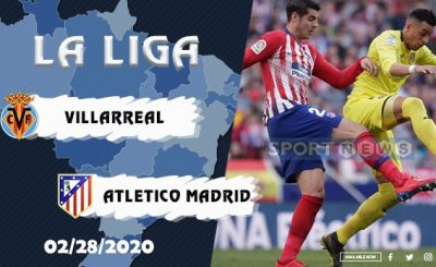 Villarreal vs Atletico Madrid Prediction