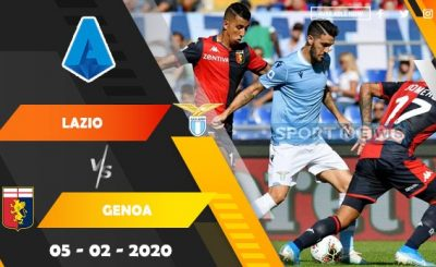 Lazio vs Genoa Prediction 1