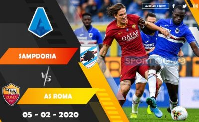 Sampdoria vs AS Roma Prediction